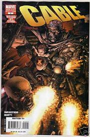 Cable #2 Retail Incentive Variant (2008) Divided We Stand DWS Marvel comic book